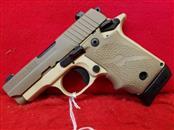 Sig Sauer P238 Desert Tan 380acp Pistol